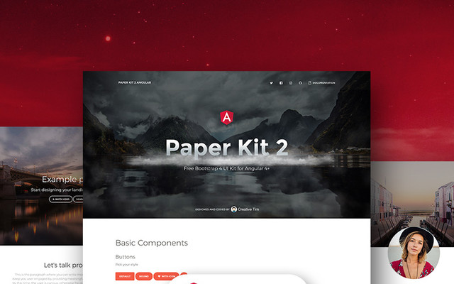 Paper Kit 2 Angular by Creative Tim thumbnail