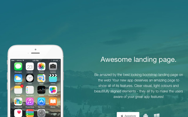 Awesome Landing Page thumbnail