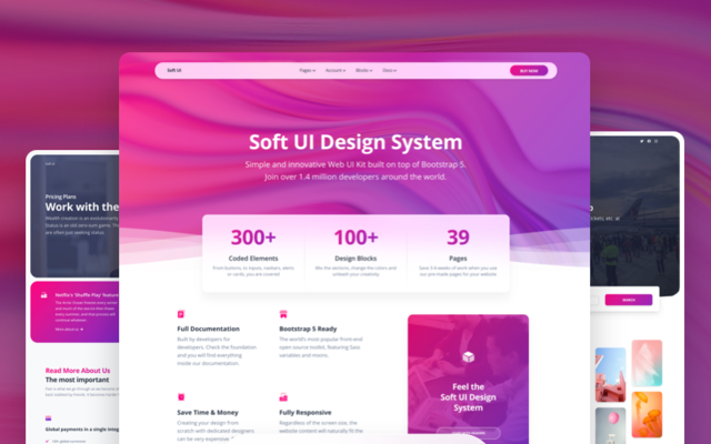 Soft UI Design System PRO by Creative Tim thumbnail