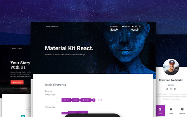 Material Kit React thumbnail