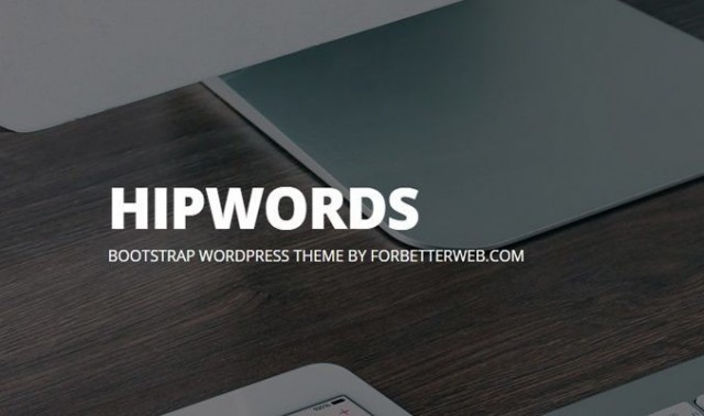 HipWords WordPress Theme thumbnail